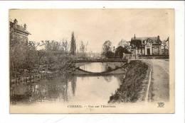 CPA Corbeil 91 Vue Sur L´essonnes ND Circulé 1910 - Corbeil Essonnes