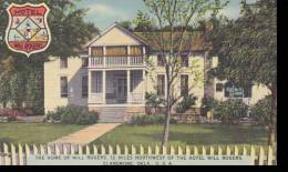 Oklahoma Claremore Will Rogers Home &amp  Birthplace