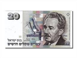 [#251230] Israel, 20 New Sheqalim, Type Moshe Sharett - Israel