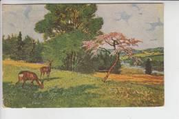 JAGD - HUNTING - JACHT - CHASSE - CACCIA - CAZA - LOWIECTWO - Künstler-Karte - Bernhardi - Postkaarten
