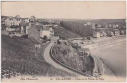Val André. Villas Sur La Falaise De Piegu. CPA Très Bon état. - Sonstige Gemeinden