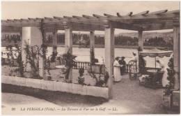 03, Vichy, Allier, La Pergola (20), La Terrasse Et Vue Sur Le Golf - Vichy