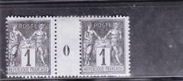 SAGE N/U - YVERT N°83 - AMINCI SUR LE PONT Mais TIMBRES ** - MILLESIME 1900 - 1876-1898 Sage (Type II)