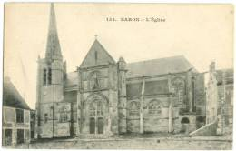 France, BARON, L'Eglise, Early 1900s Unused Postcard CPA [12458] - Other Municipalities