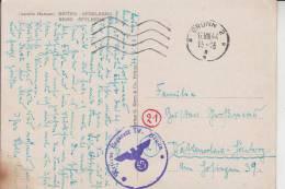 BÖHMEN & MÄHREN, BRÜNN, POSTGESCHICHTE, Maschinenstempel 1944, Reserve Lazarett IV, Brünn - Sudeten