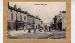 DOMBASLE SUR MEURTHE  RUE NATIONALE   BELLE ANIMATION    EDIT   CIRC  1914 - France