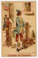 Chromo Chocolats Du Planteur, Commissionnaire 1750 - Chocolat
