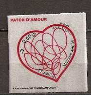 2012 - N°648** - Coeur Adeline André - Patch D'amour 0.60 € - Adhésifs (autocollants)