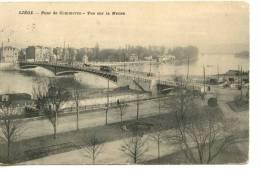 LIEGE - Pont De Commerce - Vue Sur La Meuse - Jolie Carte - Scan Recto Verso - Belgique