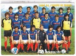FOOTBALL    L' EQUIPE  DE FRANCE  EURO 84      CPM    1Y407 - Calcio