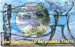 CALENDARIO DEL AÑO 2008 DEL AÑO INTERNACIONAL DE LA TIERRA  FABRICA MONEDA Y TIMBRE  (CALENDRIER-CALENDAR) - Calendarios