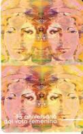 CALENDARIO DEL AÑO 2006 DE 75 ANIV. VOTO FEMENINO  FABRICA MONEDA Y TIMBRE  (CALENDRIER-CALENDAR) - Calendarios
