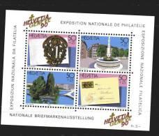 Svizzera ** - 1990 - BF. 26 Geneve 90 - Blocks & Sheetlets & Panes