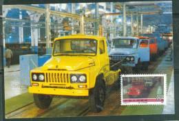 CPSM GF -   République De Chine - Usine De Camion , Carte Maximum Oblitéré En 1970  LAe23 - Taiwan