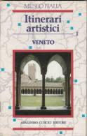 LIBRETTO BOOKLET SMALL BOOK VENETO ITINERARI ARTISTICI 50 PAGINE - Mappe