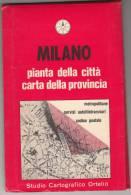 LIBRETTO BOOKLET SMALL BOOK MILANO PIANTINA GENERALE DETTAGLIATA - Europa