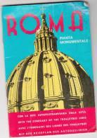 LIBRETTO BOOKLET SMALL BOOK ROMA PIANTINA MONUMENTALE -MACCHIE DI VETUSTA' - Europa