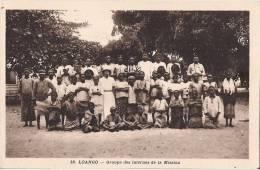 LOANGO  GROUPE DES INTERNES DE LA MISSION  TRES ANIMEE - Congo Français - Autres