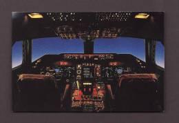 AVIONS - AVIATION - AIRPLANES - QANTAS LONGREACH 747-400 - FLIGHT DECK - 1946-....: Moderne