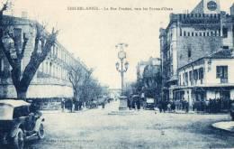 SIDI BEL ABBES (Alg�rie) rue Prudon animation