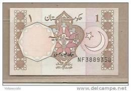 Pakistan - Banconota Non Circolata FdS Da 1 Rupia P-27m - 1983 - Pakistan