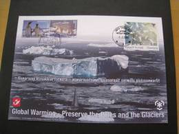 BELGIQUE 2009. CONSERVATION  DES OCEANS. EMISSION COMMUNE AVEC  GROENLAND. ANTARCTIQUE. ARCTIQUE. OURS.  ETAT IMPECCABLE