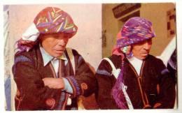 D9847- Indian Chiefs - Chichicastenango - Guatemala