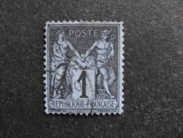 A). TB N° 83, Oblitéré. Cote = 1 Euro. - 1876-1898 Sage (Type II)