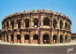Francia - Cartolina EN PAYS ROMAIN... NIMES, Les Arenes, Amphitheatre Romain - PERFETTA E64 - Nîmes