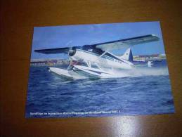 CPM Avion Hydravion Beaver DHC 2 - PORT GRATUIT - 1946-....: Moderne
