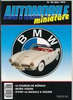 AUTOMOBILE MINIATURE, N° 96 (mai 1992) : Revell Metal, Solido, De Soto, Mercury, Spot-On, Dinky Toys, Héco-Modèles... - Magazines