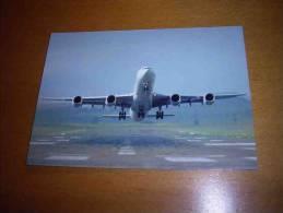 CPM Avion ALLEMAGNE -  Airbus A340 Au Décollage - PORT GRATUIT - 1946-....: Moderne