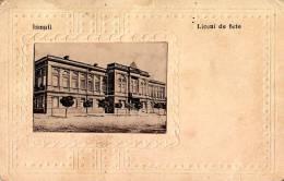 BASARABIA : ISMAIL / IZMAIL - LICEUL DE FETE / LYCÉE De FILLES - CARTE POSTALE VOYAGÉE En 1927 (m-893) - Ukraine