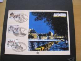BELGIQUE 1994. EMISSION COMMUNE BELGIQUE. FRANCE. SUISSE. SIMENON. LIEGE. ECRIVAIN. MAIGRET. PARIS.   ETAT IMPECCABLE.