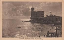 CORNIGLIANO - GENOVA- CASTELLO RAGGIO VG  BELLA FOTO D´EPOCA ORIGINALE 100% - Genova (Genoa)