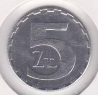 Polonia 5 ZLOTES    1.990     Aluminio   KM#81.3    SC/UNC    T-10.207 - Polonia