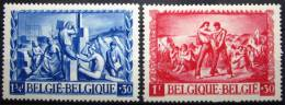 BELGIQUE            N°  697/698         NEUF** - Neufs