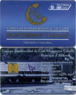 Telefonkarte Andorra - Werbung  -  Montserrat Caballe - 05/2001 - Aufl. 20000 - Andorra