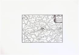 Therouane    PAS DE CALAIS  2  PLAN GRAVURE  17me - Maps