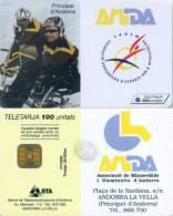 Telefonkarte Andorra - Amda  - 07/2000 - Aufl. 20000 - Andorra
