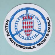 RALLYE AUTOMOBILE MONTE CARLO MECANIQUE - AUTOCOLLANT (455) - Autocollants
