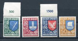 Estonia 1940 MI 152-5 MNH - Estonia