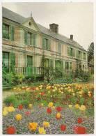 710 - GIVERNY - Musée Claude Monet - La Maison Au Milieu Du Jour - Non écrite Dos Propre - Scan Recto-verso - Other Municipalities