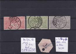 TIMBRE   NEDERLAND  PAYS BAS   Au Profit De L Oeuvre De La Tuberculose + 1 T-télégraphe - 1891-1948 (Wilhelmine)