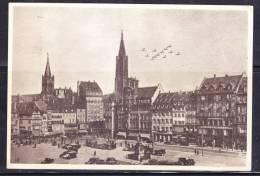 R)POSTAL CARD 1945 STRASBOURG AIR WEEK, 4-11 NOVEMBER - Czech Republic
