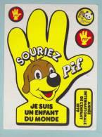 PIF ANNEE DE L ENFANT 1979 JE SUIS UN ENFANT DU MONDE - AUTOCOLLANT (491) - Autocollants