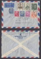 Germany: 1956 Cover, NIEDERAU  To WINDHOEK, SOUTH WEST AFRICA, Olympics, Hahnmann,Kolping, Sieveking - BRD