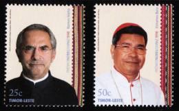 2008 MNH ** Timor Leste Timor East  Nobel Peace Price  2 V.  Sc 362-63 Mi 381-82 - East Timor