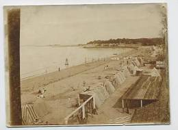 Photo 118 Mm X 90 Mm : Plage De FOURAS 1932 - Photos