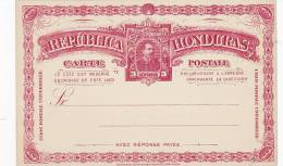 Honduras  Unused  Old Postal Card 3 Centavos - Honduras